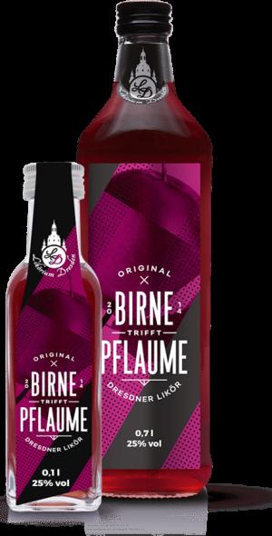 Original Dresdner Birne-Pflaume Likör
